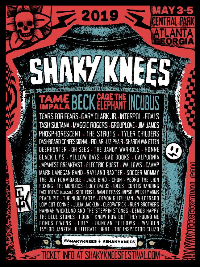 Shaky Knees Logo